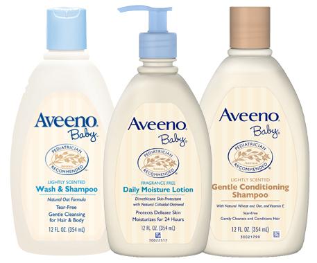 Save $2.00 off any (1) AVEENO Baby Product