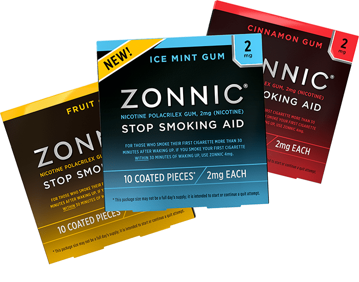 Free Pack of Zonnic Stop-Smoking Aid