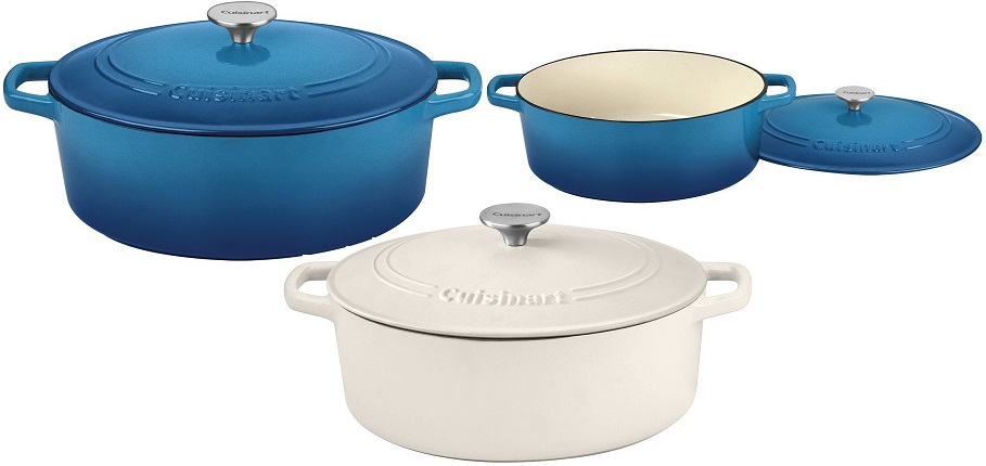Today Only – Cuisinart  Cast Iron Cookware As Low As $54.99 + FREE Shipping