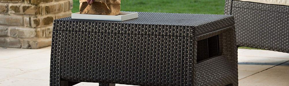 All Weather Outdoor Patio Coffee Table Only $39.99 + Free Shipping