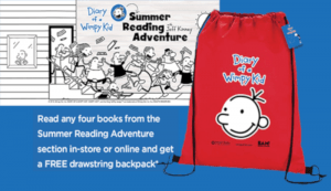 Books-A-Million – Free Drawstring Backpack