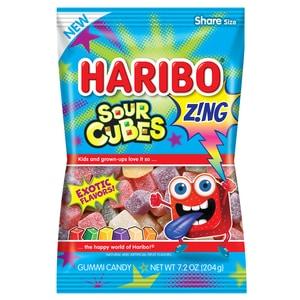 New Coupon – $0.50/1 HARIBO Z!NG Sour Cubes