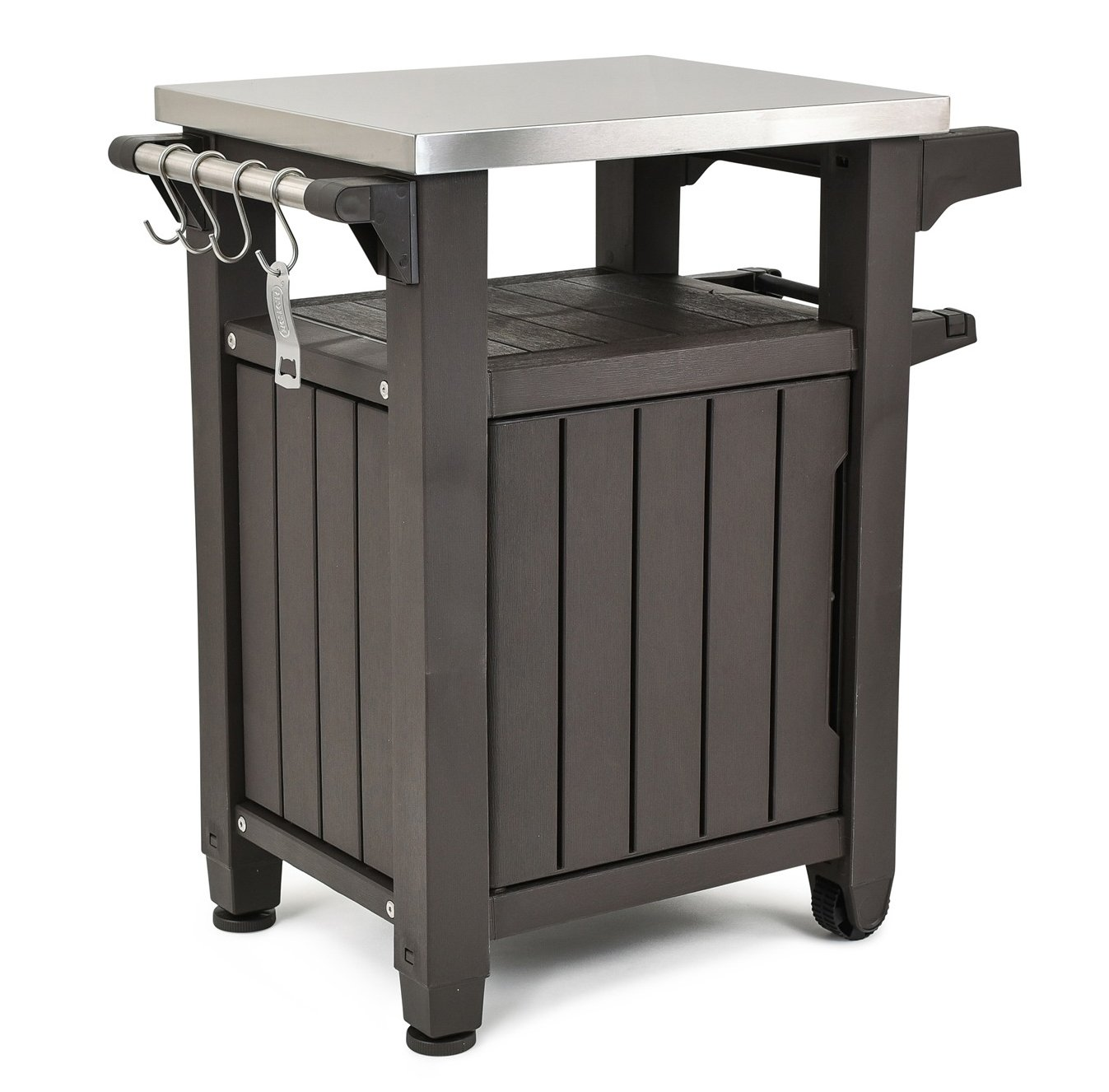 Indoor Outdoor BBQ  Prep Station with Metal Top $95.99 (Reg.$159.99)+ Free Shipping