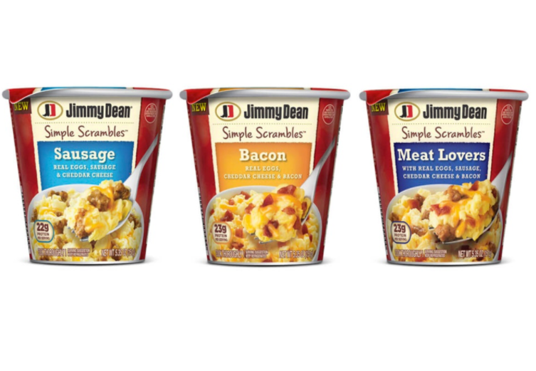 New Coupon –  $0.55/1 Jimmy Dean Simple Scrambles Product