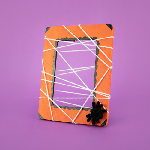 Free Kids Club Spider Web Photo Frame at Michaels
