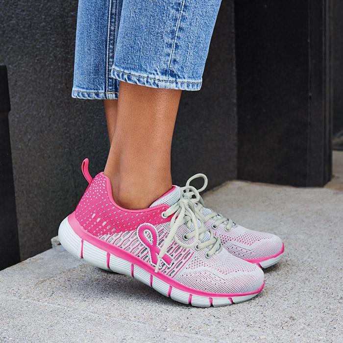 Pink Hope Walking Sneakers – Just $35