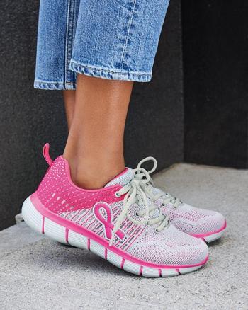 Pink Hope Walking Sneakers