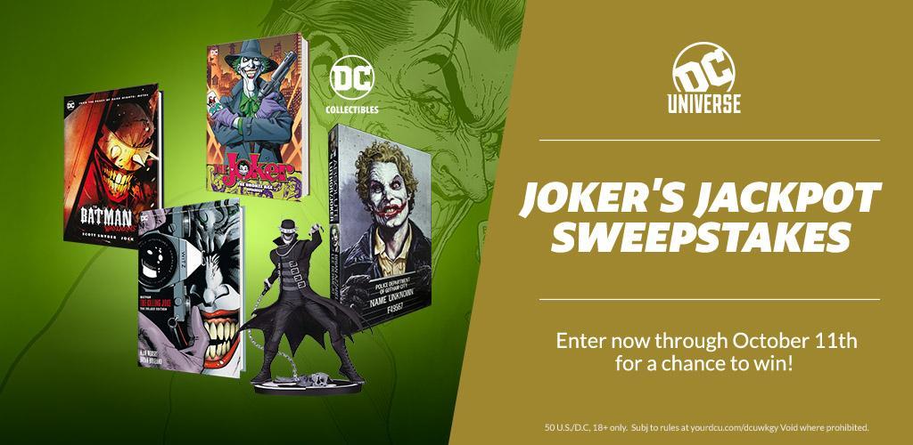 Win a Joker's Jackpot of Swag ($330 Value)