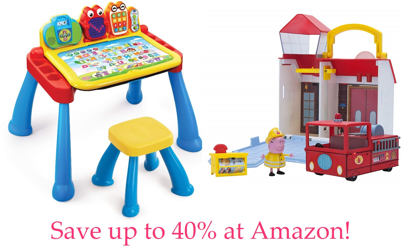 Save up to 40% on toys from VTech, Peppa Pig and more