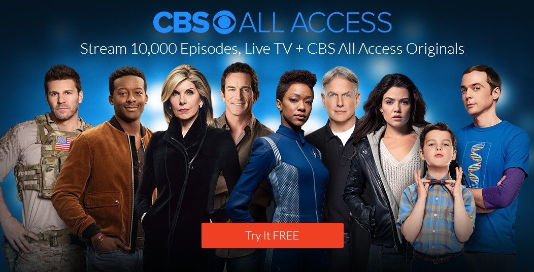 1-Month Free of CBS All Access