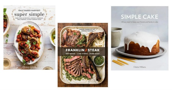 Win a $198 Collection of 6 of 2019's Best Cookbooks