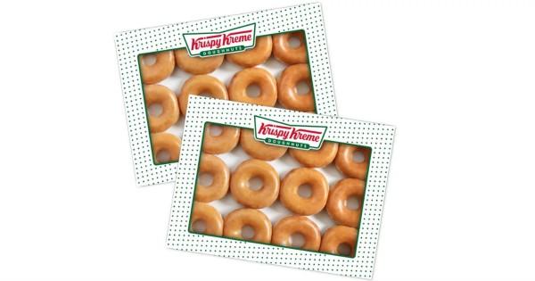 $2 Dozen with Any Dozen Purchase at Krispy Kreme