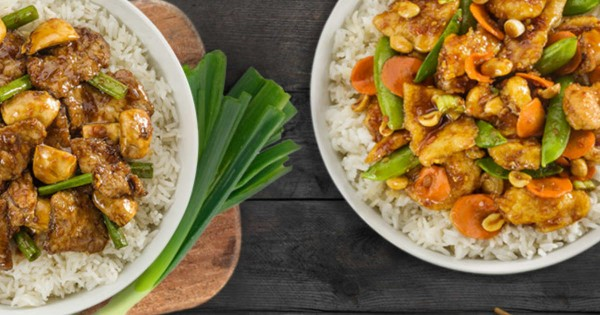 Pei Wei – 25% Off Entrees