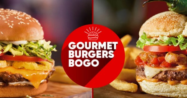 Buy One Get One 50% Off at Red Robin