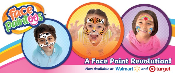 New Coupon: Save $2.50 on Face Paintoos