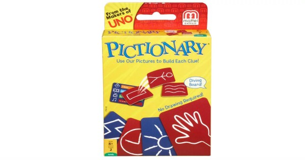 Amazon – Mattel Pictionary Card Game ONLY $4.92 (Reg. $10)