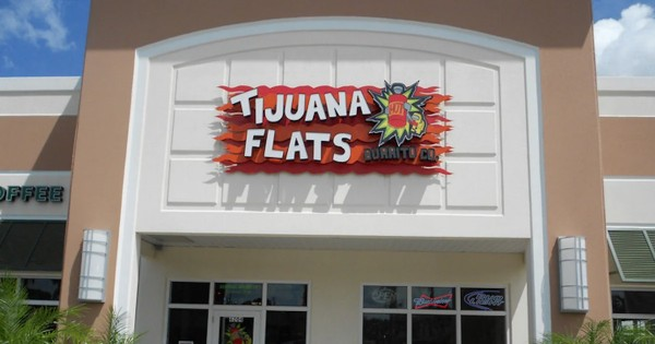 Burrito, Chips and Drink for $5.99 at Tijuana Flats