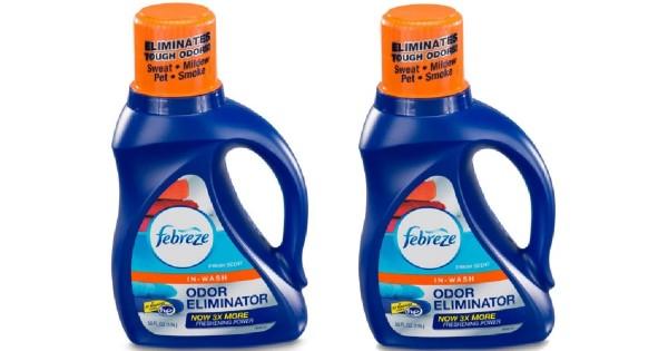 Febreze In-Wash Odor Eliminator ONLY $1.84 at Walmart