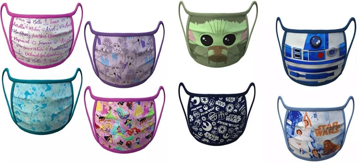 Pre-Order Disney Face Masks for Kids-Only $5.00 Each!