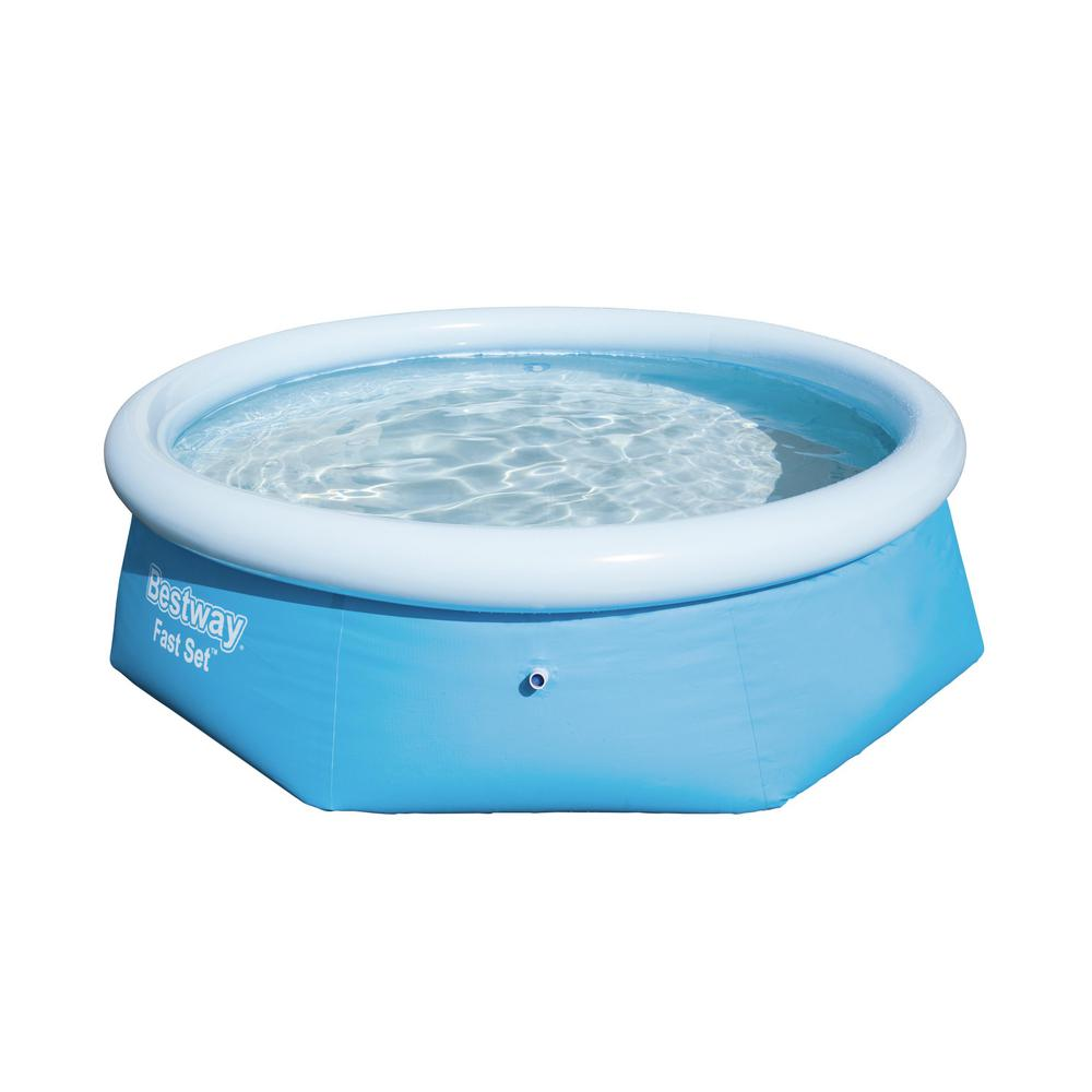 10 ft. Round 30 in. Deep Easy Set Inflatable Pool Only $88.98