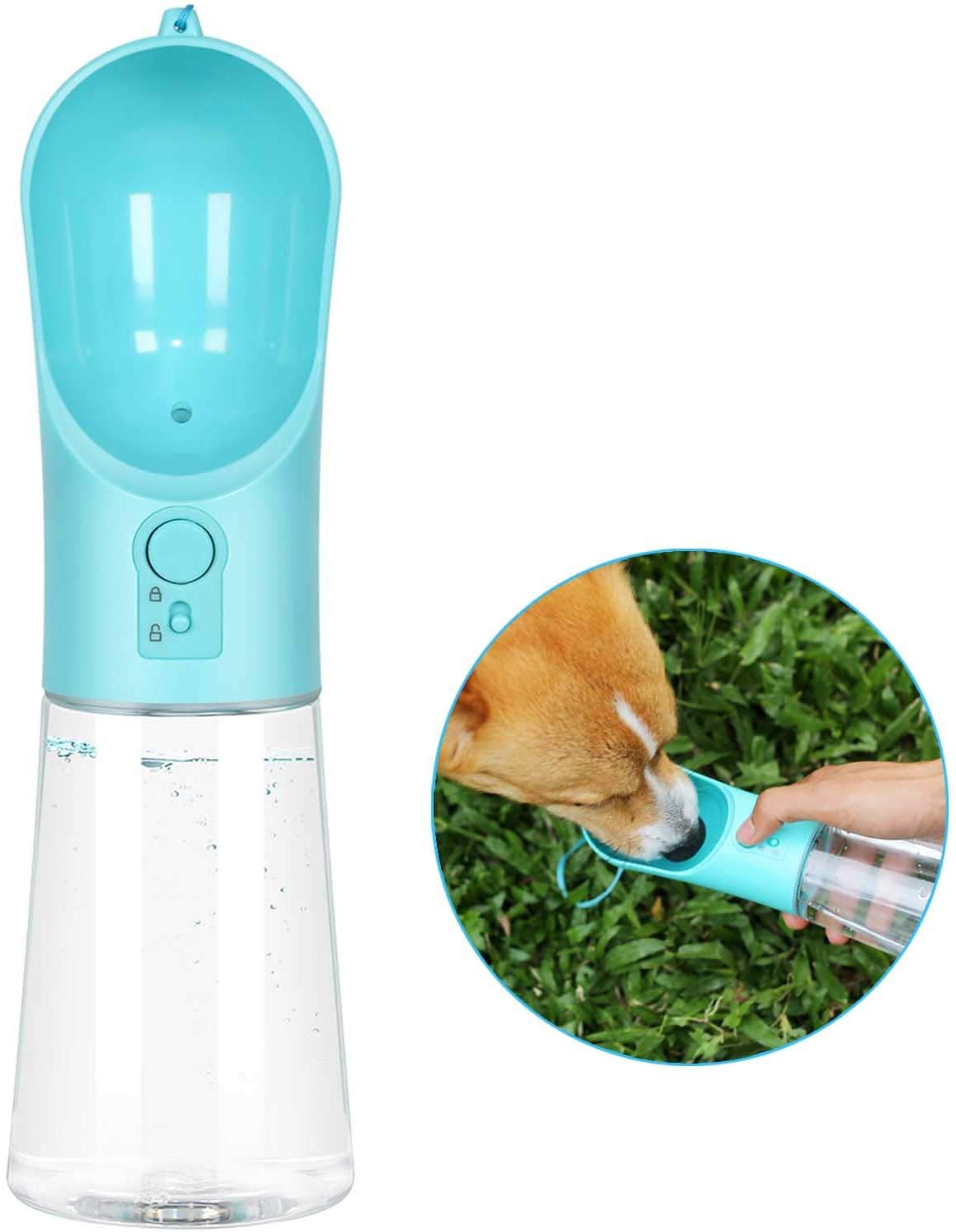 Portable Pet Water Bottle Only $13.99