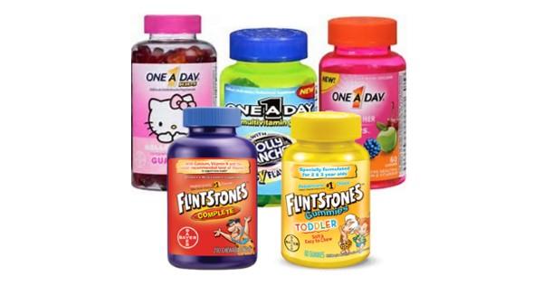 Save $3/1 Flinstones Or ONE A DAY Kids Vitamin