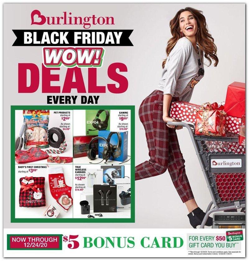 Burlington Black Friday Ad Preview