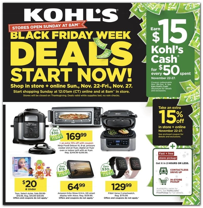 Kohl's Black Friday Ad Preview
