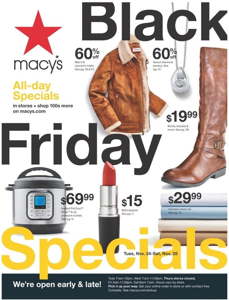 Macy's Black Friday Ad Preview