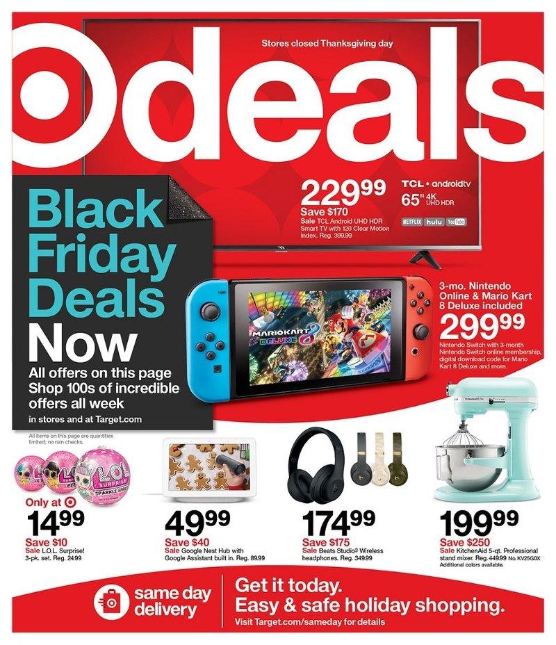 Shop The Target Black Friday Deals Now!
