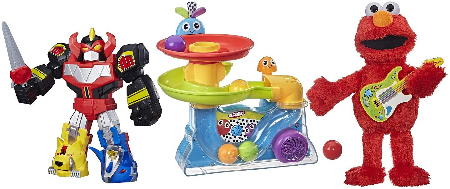 Save Up to 30% off Toys from Playskool, Sesame Street and More!