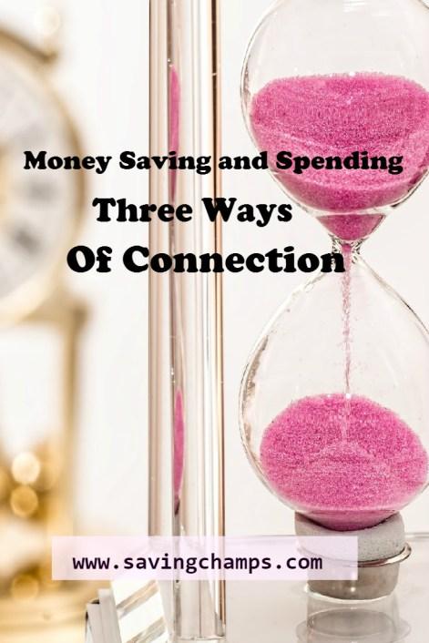 money saving and spending