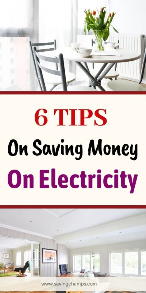 tips on saving money on electricity