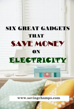Gadgets to save electricity