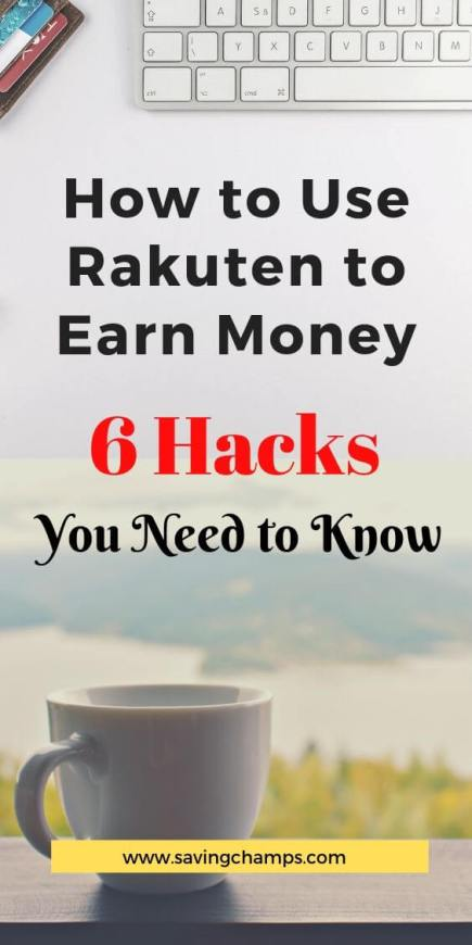 how to use rakuten for cash back