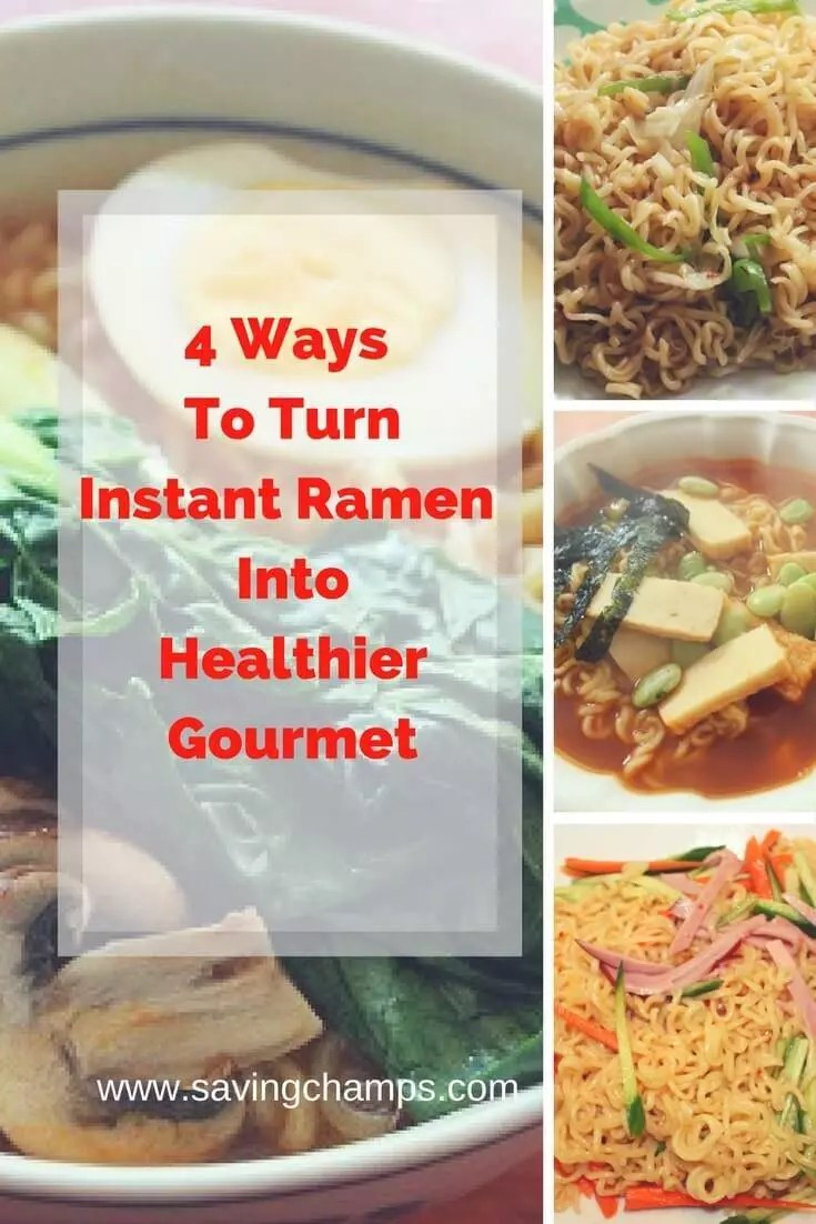 Try these instant ramen recipes. Using these recipes, you not only add more nutrition to the ramen but also upgrade its taste to a higher level.
