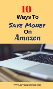 save money on amazon