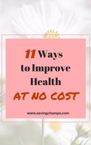ways to improve your health