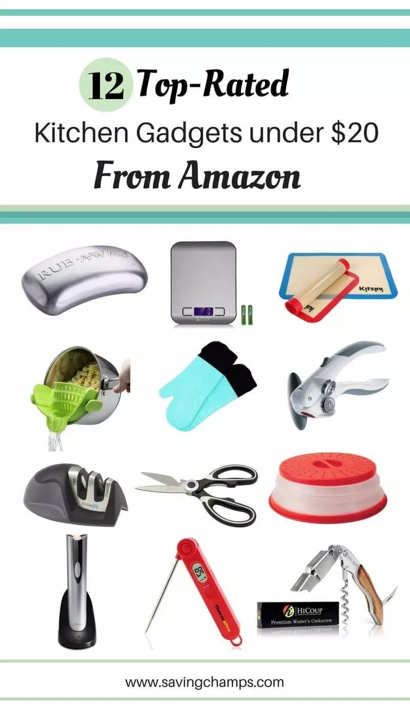 12 Best Amazon Kitchen Gadgets with Top Ratings under $20