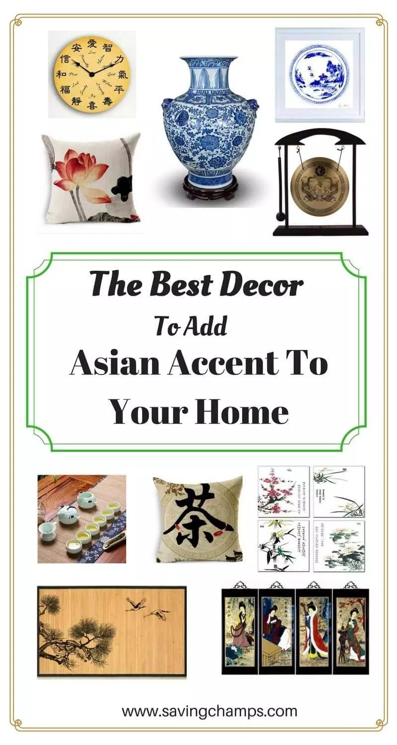 There are some awesome Asian-style decor items for your home at Amazon and Etsy. Those are the best decor to add an elegant touch to your rooms. | Asian home decor | best home decor items