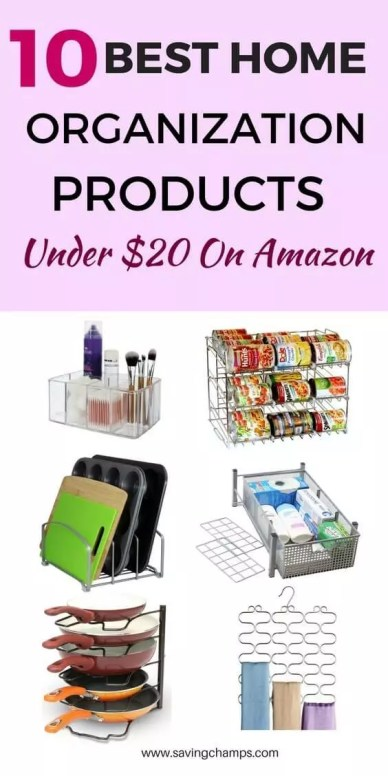 best home organization products from Amazon