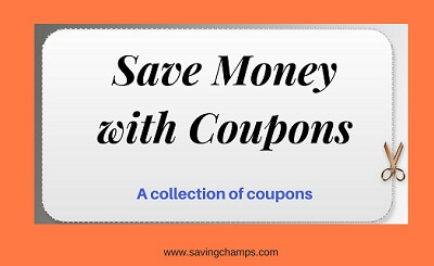 save more with coupons