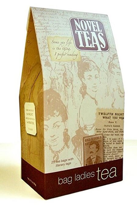 Best Gifts for Book Lovers_Novel Teas