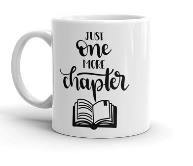 Best Gifts for Book Lovers One More Chapter Mug