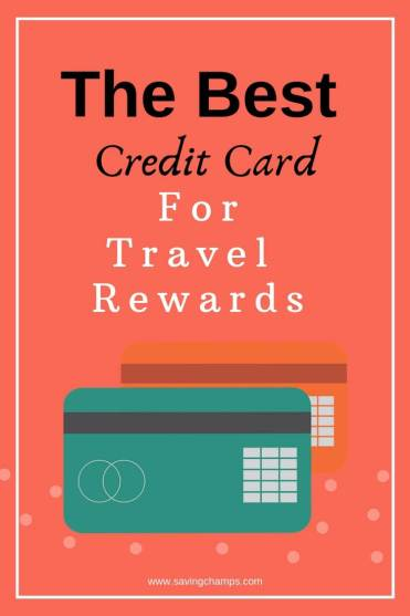 The best credit card for travel reward