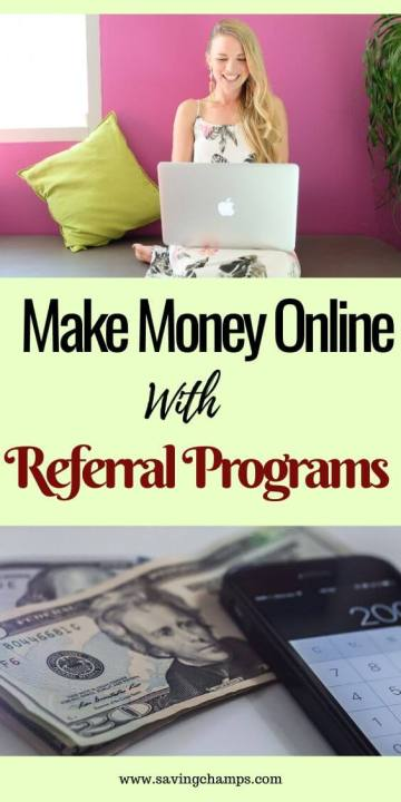 make money online with referral programs