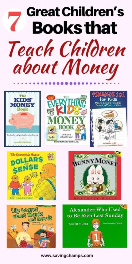 7 best books to teach children about money