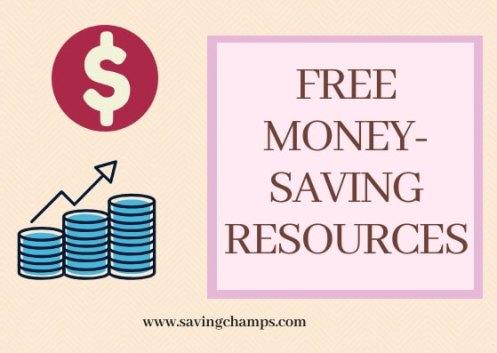 Free Money-saving Resources