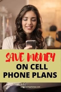 save money on cell phone plans