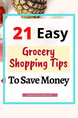 ways to save money at grocery stores